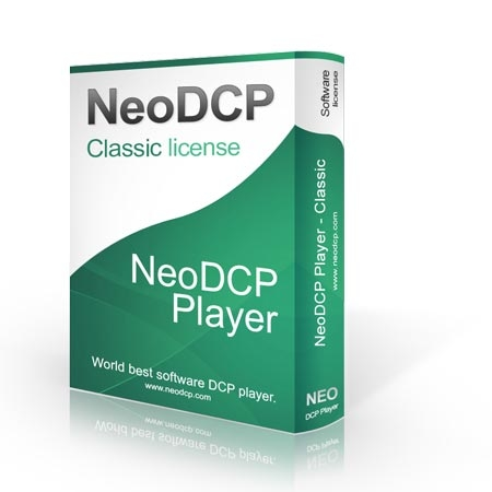 NeoDCP Player - classic license