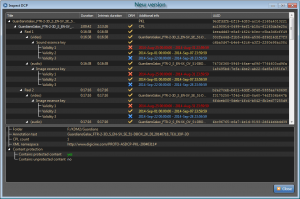Inspect DCP - new version