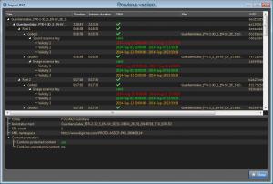 Inspect DCP - previous version